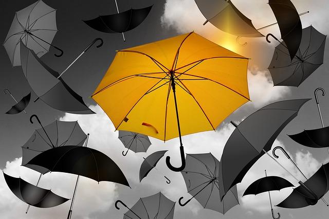 Allerlei Schirme